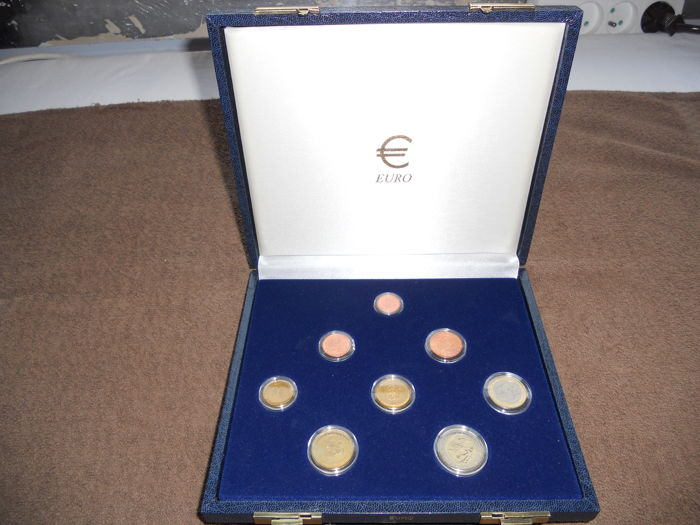 Monaco – 1 cent up to 2 euro 2001 (8 pieces) in set