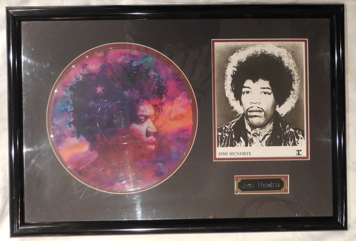 Jimi Hendrix - In From The Storm - Picture Disc Award