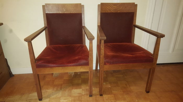 Set Of Six Dining Room Chairs The Hague Or Amsterdam School