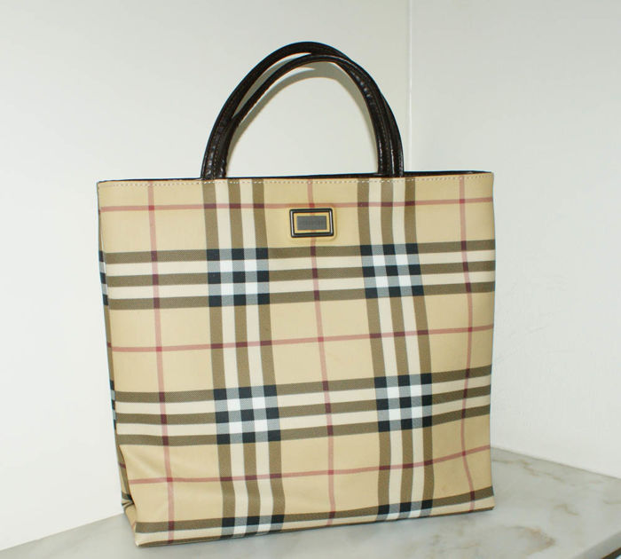 Burberry – Tote bag - Catawiki 7e9a0777f2b36