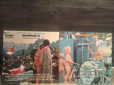 Woodstock 3LP and Woodstock two 2LP