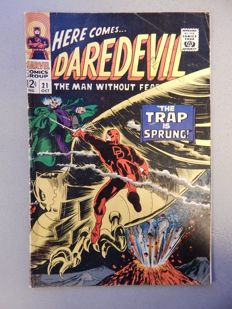 Marvel Comics - Daredevil #21 - 1x sc - (1966)