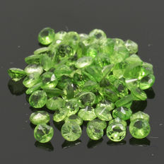 85 Peridot - 3.22 ct. - No Reserve Price