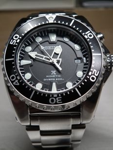 Seiko - Kinetic Divers 200m - Homme - 2017