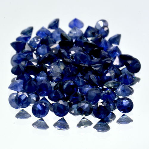 78 Blue Sapphires - 5.80 ct. - No Reserve Price