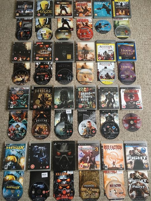 Bundle of SONY PS3 Games Inc Classics Like Grand Theft ...