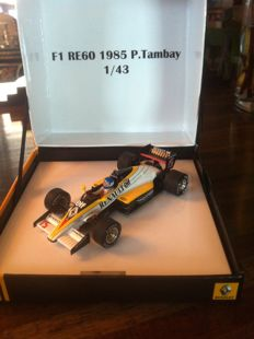 Spark - Scale 1/43 - F1 - Renault R.E. 60 1985 - Patrick Tambay - Limited edition 0960/1500