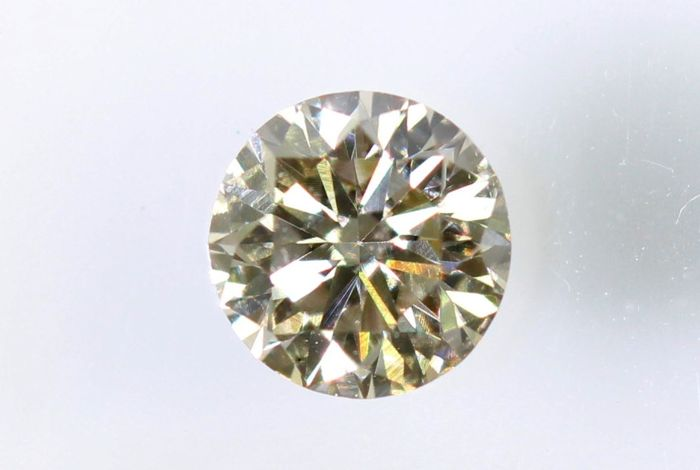 Diamond - 0.21  ct – K ,  VVS2  –  No Reserve Price