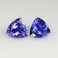 Tanzanite Pair - 2.61 Ct