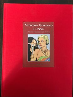 "Giardino, Vittorio - limited edition volume ""Lusso"" with print and ex libris (2007)"