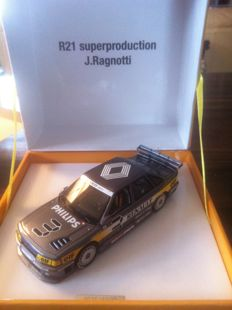 Spark - Echelle 1/43 - Renault R 21 Superproduction - J.Ragnotti - Limited edition 0975/1000