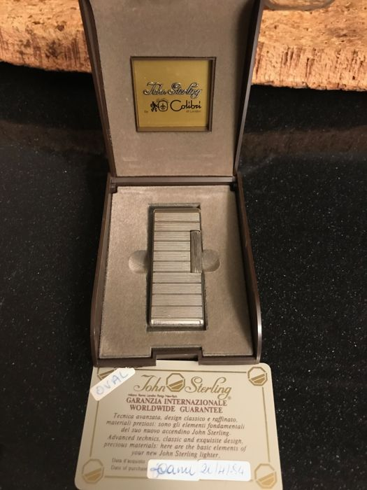 John Sterling lighter - Steel Colibrì