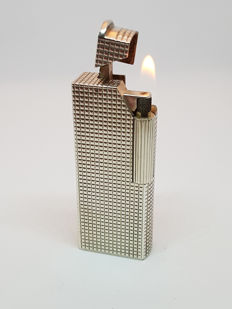 Dunhill lighter in sterling silver