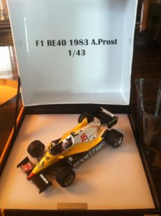 Spark-Renault Merchandising - Schaal 1/43 - Renault R.E. 40 1983 - Alain Prost - Limited edition 0960/1500