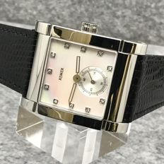 Xemex - White Mother of Pearl Dial with 11 diamonds marker - 25148-02  White MOP - Dames - 2011-heden