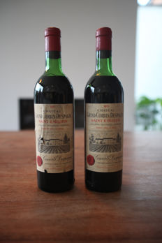 1971 Chateau Grand Corbin-Despagne, Saint-Emilion Grand Cru Classé - 2 bottles