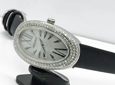 Milleret - Stainless with pave diamonds bezel  ladies watch - Women - 2011-present
