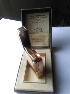 S.T.Dupont lighter - Paris, line 1 B R, working, comes with its box