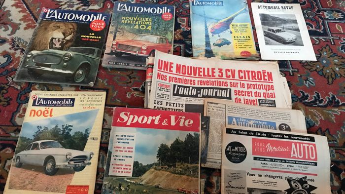Lauto Journal Lautomobile And Other Newspapers Magazines