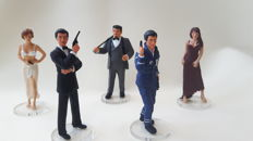 Corgi Icon Figures James Bond -  5 figures Zukovsky/Natlya Simonova/Elektra/James Bond/Bond