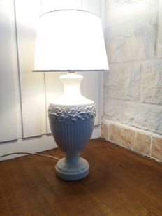 Wedgwood - Creamware table lamp - Edme Vines, England, second half of 20th century