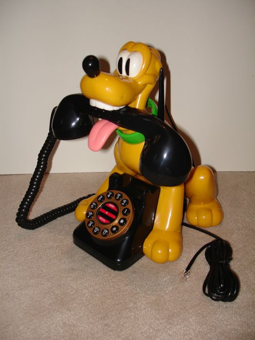 Disney, Walt - Talking telephone Superfone Holland - Pluto (1980s/90s)