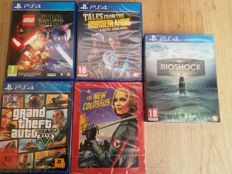 SONY PlayStation 4 games, incl GTA V, Bioshock Collection, Wolfenstein II: The New Colossus and LEGO:Star Wars - The Force Awakens