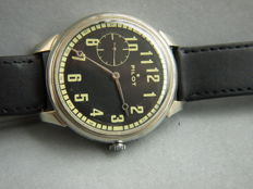 Molnija pilot men's military style wristwatch 1950-55