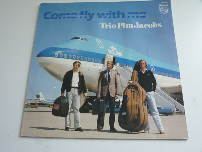 "Dutch Cool Jazz album in excellent state: the Pim Jacobs Trio ""Come fly with me""on  Dutch Philips 6423529,  first pressing, album plays mint-"