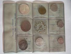 Republic of Italy - 1968 divisional series (including silver)