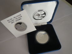 Belgium - 10 Euro 2013 'Claus' in case - silver