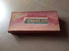 Jep, France - Width box 48 cm - Tin train