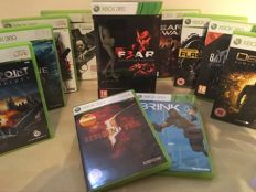 FEAR 3 Collectors Edition Xbox 360 Boxset + 10 Massive Xbox Games inc Resident Evil - Gears of War & Lots More