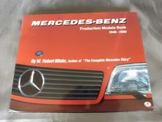 Mercedes Benz - book Models Production 1946-1990