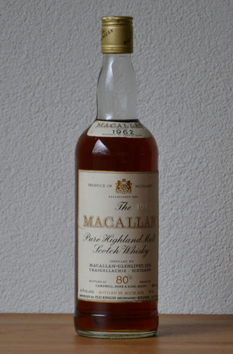 Macallan 1962 80 proof - bottled in the late 1970s - OB - Catawiki