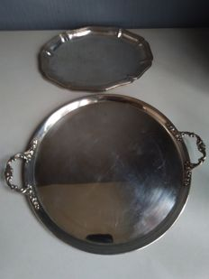 Two silver 800/835 tablet - Germany - 1910/20s
