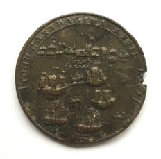 United Kingdom - Medal Admiral Edward Vernon and Admiral Sir Chaloner Ogle, the attack on Cartagena 1741
