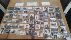 Collection of 65 Photos WWII German air force FW 190, JU 52, HS 123