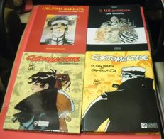 Pratt/Vianello - 4x volumes of Corto Maltese (1996-2006)