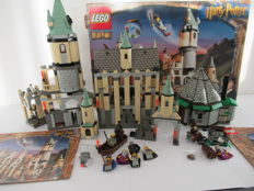 Harry Potter - 4707 + 4709 - Hagrid's Hut + Hogwarts Castle