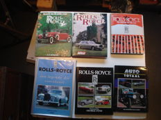 Rolls Royce  6 books on Rolls Royce and Bentley
