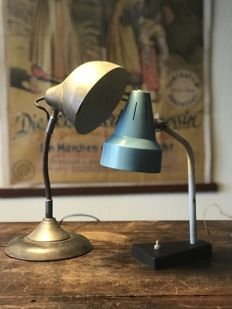 Hala and unknown - 2 x Desk Lamp