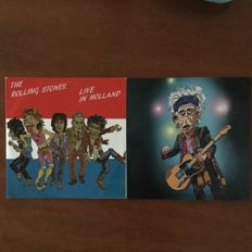 2 albums from the Rolling Stones - Honky tonk in Oslo & Live in Holland '14 & '90