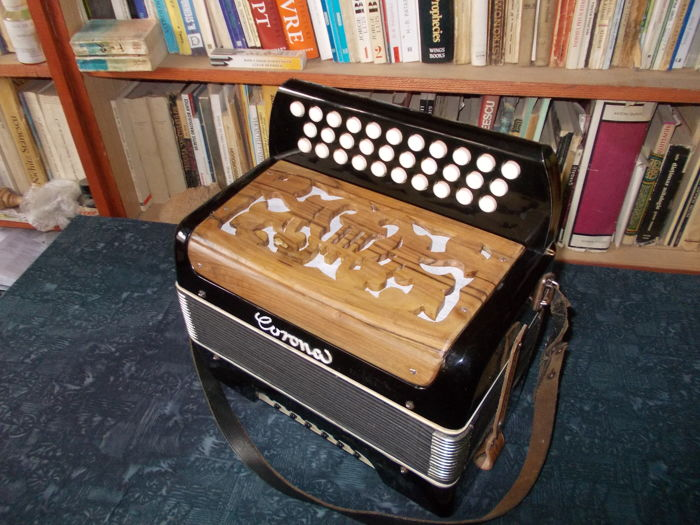 "Diatonic ""Corona"" Accordion - G/C/F - From 1995"