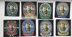 Large collection of beer labels - more than 1,000 items