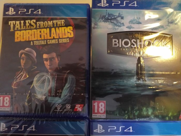 SONY PlayStation 4 games, incl GTA V, Bioshock Collection