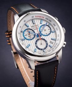 Seiko Grand Sports Mecha Quartz - Tachymeter -  Chronograph   -  43 mm