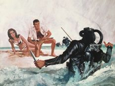 Robert McGinnis - Thunderball, James Bond - 1965