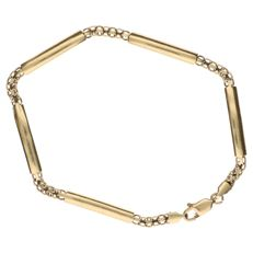 14 kt yellow gold bracelet 19.7 cm yellow gold