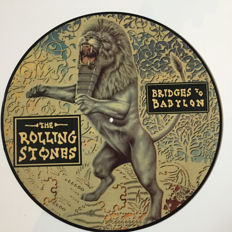 The Rolling Stones - Bridges to Babylon Picture Disc